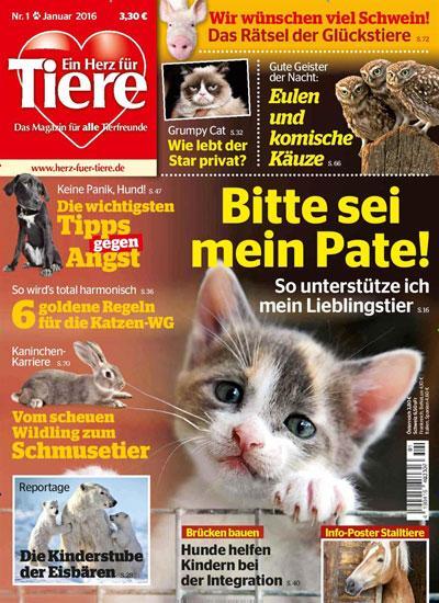 Titelblatt Ein Herz für Tiere