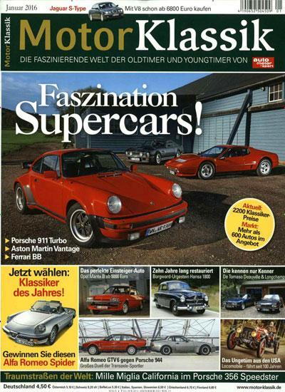 Titelblatt Motor Klassik