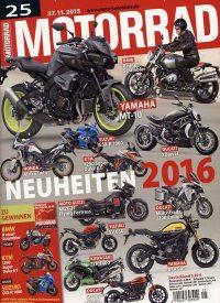 Titelblatt Motorrad