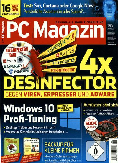 Titelblatt PC Magazin DVD
