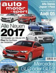 Titelblatt Auto motor sport