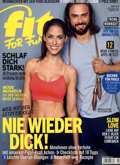 Titelblatt Fit for Fun
